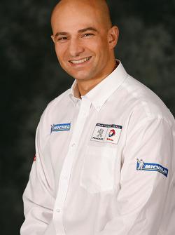 Pascal Dimitri, logistics