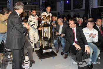 Presentation of the 2010 Team Peugeot Total Peugeot 908 HDi FAP