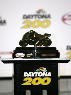 The winning trophy
