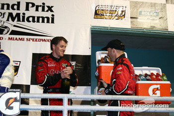 DP podium: third place Jon Fogarty and Alex Gurney