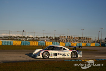 #59 Brumos Racing Porsche Riley: David Donohue, Darren Law