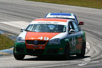 #49 Irish Mike's Racing Volkswagen Jetta: Jack Corthell, John Lettieri