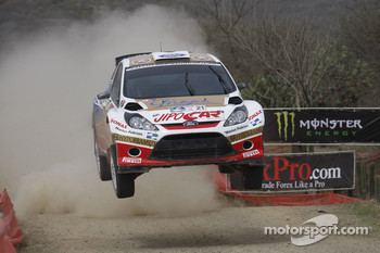 Martin Prokop and Jan Tomanek, Ford Fiesta S2000