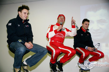 LMS press conference: Greg Mansell, Nigel Mansell and Leo Mansell