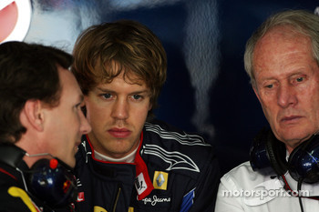 Christian Horner, Red Bull Racing, Sporting Director, Sebastian Vettel, Red Bull Racing