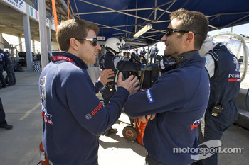 Anthony Davidson and Nicolas Minassian