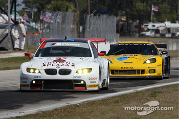 #92 BMW Rahal Letterman Racing Team BMW E92 M3: Bill Auberlen, Tom Milner, Dirk Werner