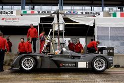 Audi Sport Team Joest Audi R15 TDI: Mike Rockenfeller