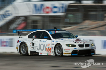 #90 BMW Rahal Letterman Racing Team BMW E92 M3: Dirk Muller, Joey Hand, Andy Priaulx