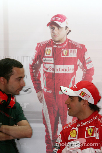 Nicolas Todt, Drivers manager, Felipe Massa, Scuderia Ferrari