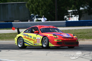 #69 WERKS II Racing Porsche 911 GT3 Cup: Robert Rodriguez, Galen Bieker, Cory Friedman