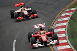 Felipe Massa, Scuderia Ferrari Lewis Hamilton, McLaren Mercedes