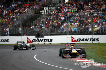 Mark Webber, Red Bull Racing, Nico Rosberg, Mercedes GP