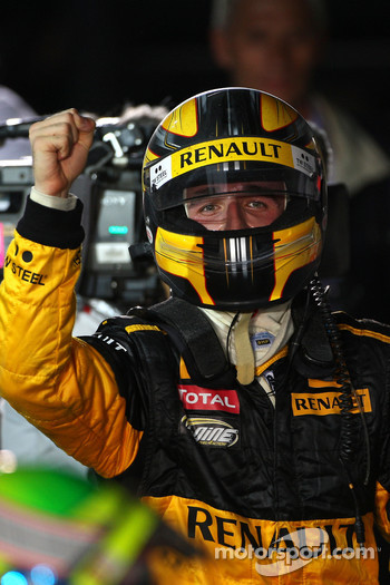Second placeRobert Kubica, Renault F1 Team
