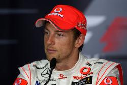 Post-race press conference: Jenson Button, McLaren Mercedes