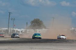 #14 AASCO Motorsports: Javier Quiros, #45 Policasto Motorsports: Joseph Policastro Sr., #75 Taxmasters Racing: Patrick Cox
