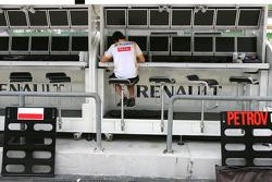Renault F1 Team atmosphere