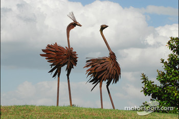 Some more interesting sculptures at Barber Motorsports Park
