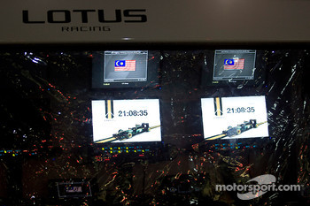 Lotus Racing Pitwall