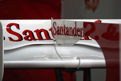 Rear wing of Felipe Massa, Scuderia Ferrari detail
