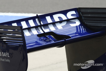 Nico Hulkenberg, Williams F1 Team rear wing