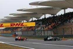 Michael Schumacher, Mercedes GP, Felipe Massa, Scuderia Ferrari