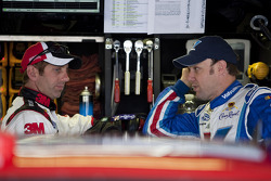 Greg Biffle, Roush Fenway Racing Ford and Matt Kenseth, Roush Fenway Racing Ford