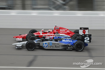 Scott Dixon, Target Chip Ganassi Racing runs with Raphael Matos, de Ferran Luzco Dragon Motorsports