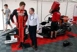 Kazim Vasiliauskas and Jean Todt FIA President