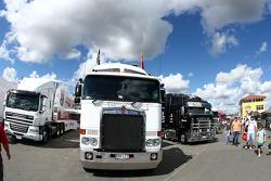 Supercheap Auto Racing transporter