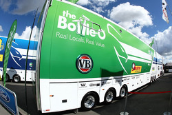 The Bottle-O Race Team transporter