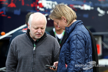 Norbert Vettel, Father of Sebastian Vettel and Sabine Kehm, Michael Schumacher's press officer