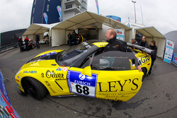#68 Chevrolet Corvette at technical inspection