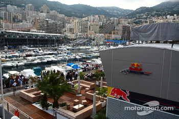 Red Bull Motorhome