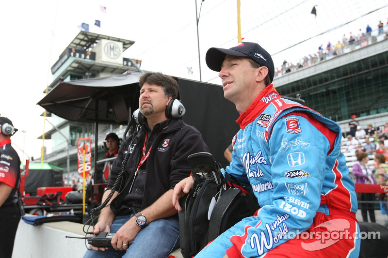 Michael Andretti and John Andretti