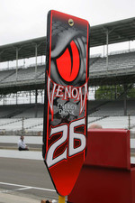 Pit sign for Marco Andretti, Andretti Autosport