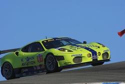#61 Risi Competizione Ferrari F430 GT: Tracy Krohn, Nic Jonsson