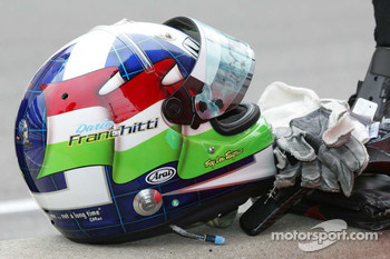 Helmet for Dario Franchittti, Target Chip Ganassi Racing