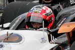 Alex Tagliani, FAZZT Race team waits to qualify