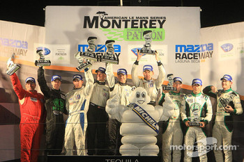 Podium: Prototype Challenge top three finishers