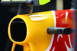 Red Bull F-Duct system air intake