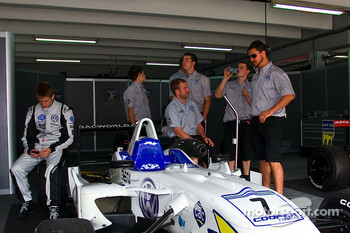 Alex Brundle and the T-Sport team