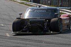 #77 Doran Racing Ford Dallara: Memo Gidley, Dion von Moltke  not a good way to end the day.