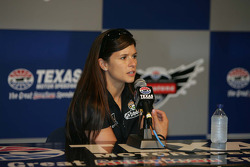 Danica Patrick, Andretti Autosport answers question from the media