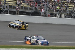 Trouble for Marcos Ambrose, JTG Daugherty Racing Toyota