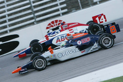 E.J. Viso, KV Racing Technology & Vitor Meira, A.J. Foyt Enterprises