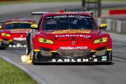 The Sahlen's Team Mazda RX-8 GT class cars