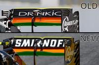 Деталь заднього антикрила Sahara Force India F1 VJM09