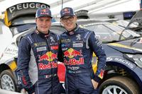 World Rallycross Foto - Davy Jeanney, Team Peugeot Hansen, Kevin Hansen, Team Peugeot Hansen