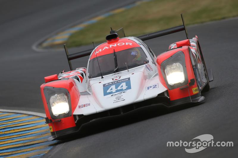 LMP2: #44 Manor, Oreca 05 - Nissan